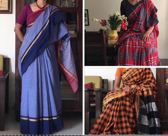 Some of the ghadi modane sarees